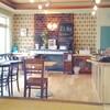 ミチココカフェはパラダイス〜カレー味のそぼろ肉とポテトのサンド、スコーンwith職場の方のブルーベリージャム。