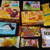 お菓子祭り!コンビニは店舗によって新商品の種類は違うんだな。