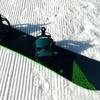 ネットで注文したスノーボードのプレチューンナップが戻ってきて早速滑ってみた。
