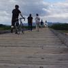 これぞまさしく生活の知恵、橋板が外れて橋を守る〜上津屋橋(流れ橋)