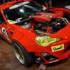 TOYOTA86にフェラーリのエンジンを載せたGT4586ほぼ完成
