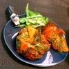 海老とパプリカの韓国風かき揚げ