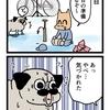 【漫画】お出かけ前に絶望する犬
