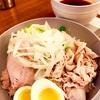 【自家製ハムを添えて…】広島風つけ麺をいただく!!