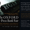 Oxford Fine Press Book Fair