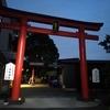 東京にある、晴明公ゆかりの神社で新月祈願
