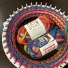 Can★Do/キャンドゥのイージーリリアンで帽子を編んだ