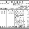 お菓子のベンチャー株式会社BAKE 第1期決算公告