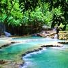 クアンシーの滝で溺れかける