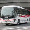 名古屋に到着した京王バス61804