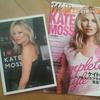 春ファッション ピンクとケイトモス
