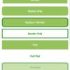 Xamarin.FormsのAndroidでButtonのBorderやRadiusを有効化しつつFlatにするEffect