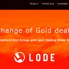 LODE ICO※40%ボーナス実施中!金現物取引プラットフォーム!「金」を 所有することを実現するICO