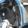 アクセラのロードノイズ低減対策・タイヤハウス防音施工