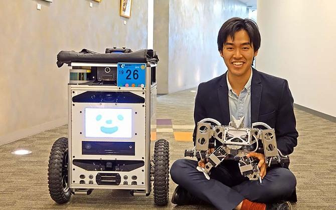 「誰もがロボットを使える社会を」若きロボット技術者が抱く夢