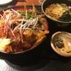 徳寿庵『肉丸丼御膳』という幸せナイト!!生姜焼きに唐揚げと牛しぐれ煮って神かよ!!