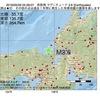 2016年05月29日 05時28分 若狭湾でM3.6の地震