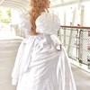 【コスプレ】《魔法にかけられて:ジゼル》白ドレス