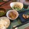 水菜のサラダと和風ペペロンチーノ✨楽天レシピでレパートリーを増やす!