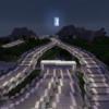 【Minecraft】インターチェンジとバイパス道を繋げる