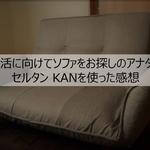 【レビュー】ソファをお探しのアナタへ!セルタン ハイバックソファ KANを使った感想
