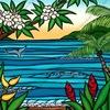ハワイを感じる!人気のヘザー・ブラウンの絵を購入