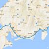 電車旅行記 東高円寺~東京~大阪 在来線の旅 - 20180802