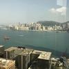 にわか雨の香港行