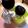 「白のケチャップ」を見出す息子、眠れず猛ダッシュする娘 - 年子育児日記(2歳10ヶ月,1歳4ヶ月)