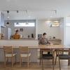 注文住宅だから実現できたワイドな一体空間、カフェスタイルのインテリアで楽しむ