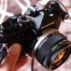 オリンパスOM-1についていたオールドレンズをデジカメE-M5に装着して紫陽花を撮影してみたら・・・