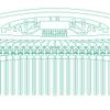 EDELWEISS の櫛イメージモデル…