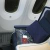 セールで買った羽田深夜便ビジネスクラスでクアラルンプールへ。NH885搭乗記