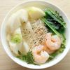 蕪と海老のお素麺