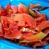 レンジで簡単【実質0円】秋映えリンゴ皮コンポートの糖質制限ダイエットレシピ~栄養豊富で美味しくキレイ~