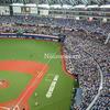 京セラドームで野球観戦し令和グッズをいただく、ビスタルーム