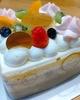 『フルーツのプリンキューブデコレーション』(シャトレーゼ)で入学祝い
