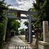 【大阪】四天王寺七宮の一つ、大江神社。境内には狛虎も(天王寺区・御朱印)