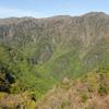 竜口尾根・又剣山から日本のギアナ高地を望む