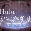 【Hulu動画保存】Huluで無料配信する安室奈美恵の動画(ライブ・PV)を録画する方法