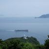関崎と関埼灯台(大分市佐賀関半島突端)