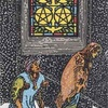 タロットカード:小アルカナ ペンタクルの5