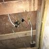脱衣所のプチ電気工事に挑戦  電気工事DIY