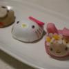 塩瀬総本家のマイメロ上生菓子とキティ饅頭