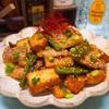 【レシピ】厚切り豚バラと厚揚げの甘酢炒め