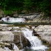 三段滝と林道