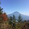 11/6に、雪見岳へ登りました。
