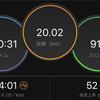 今年二回目の20km走!【マラソン練習】#142点目