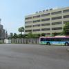 名鉄神宮前に現れた「さくら不動産」ラッピングバス