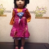 00008『創作ドール:中国の美少女』(CHRISTA CANZIO 作『LITTLE BUTTERFLY』)